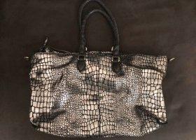 Liebeskind Crossbody bag black-silver-colored
