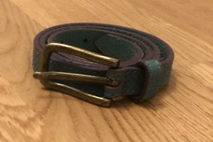 Liebeskind Leather Belt forest green-lilac