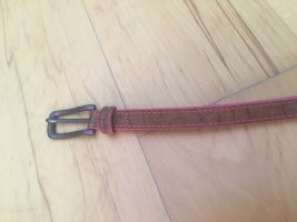Liebeskind Leather Belt cognac-coloured-pink