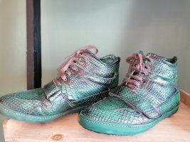 Liebeskind Zapatillas altas verde oscuro-verde bosque