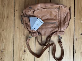 Liebeskind Handbag cognac-coloured leather