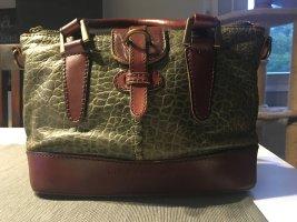 Liebeskind Berlin Carry Bag cognac-coloured-forest green