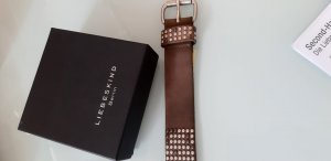 Liebeskind Leather Belt brown