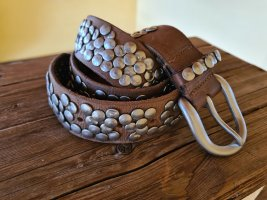Liebeskind Berlin Studded Belt light brown