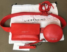 Liebeskind Bumbag red-bright red leather