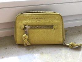Liebeskind Wallet yellow-primrose leather