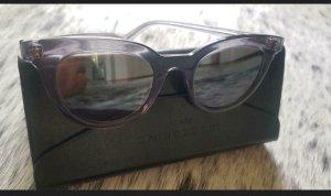 liebeskind shades sonnenbrille cateye grey ovp 189