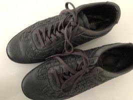Liebeskind Sneakers met veters zwart-donkergrijs Leer