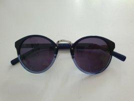 Liebeskind Ovale zonnebril zilver-blauw