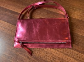 Liebeskind Crossbody bag raspberry-red-pink leather