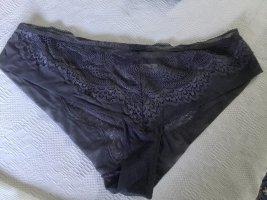 Lila/blaue Unterhose