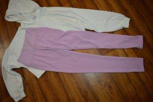 Pantalone da ginnastica malva-viola