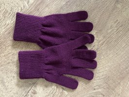 Knitted Gloves lilac