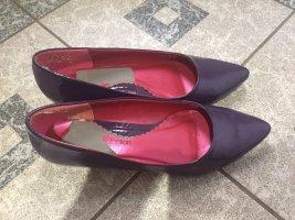 3 Suisses Ballerinas dark violet