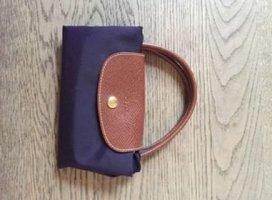 lila Longchamp Tasche S