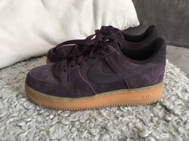 Lila Nike Air Force 1 Suede Größe 38,5