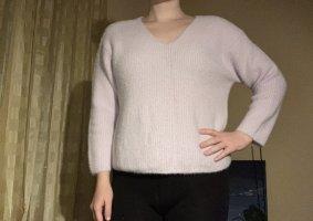 H&M Divided V-Neck Sweater mauve