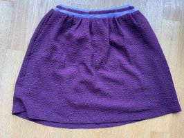 Samsøe & samsøe Jupe skater blanc-violet