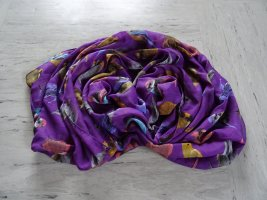 Six Tube Scarf multicolored polyester