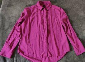 Amisu Koszula z długim rękawem Wielokolorowy Wiskoza