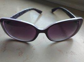 Undici Gafas de sol cuadradas lila grisáceo