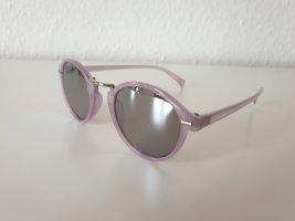 Even & Odd Lunettes de soleil rondes argenté-violet