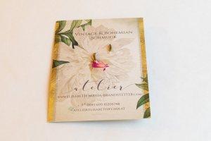 Lilly Ann Créoles vert olive-brun sable