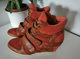 Limited by A.S.H Damen Sneaker Plateausneaker Velourleder Größe 39