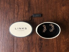 Lovelinks Ear Hoops gold-colored mixture fibre
