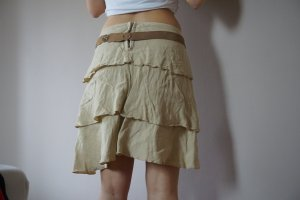 Liu jo Falda de lino beige Lino