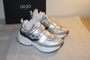 Liu Jo Sneaker Neu mit Etikett silber NP: 175 €