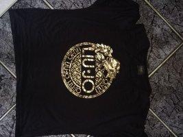 Liu jo Koszula o skróconym kroju czarny-złoto