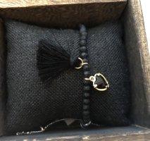 Lizas Bracelet noir-doré