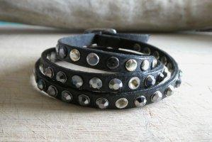 Lizas Lederen armband veelkleurig Leer