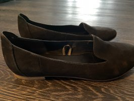 5th Avenue Moccasins black leather