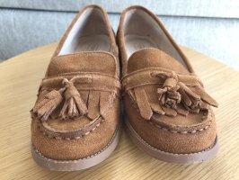 Loafer in Cognac von Topshop