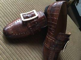 loafer | MELVIN & HAMILTON | cognac | krokostyle | 35