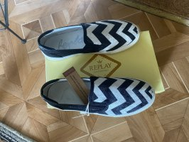 Loafer Replay Schuhe Gr. 39 NEU Leder Espadrilles Ballerina