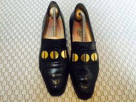 Baldinini Zapatos formales sin cordones negro Cuero