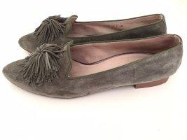 Loafer von Paul Green, Gr. 39 1/2, grün, Leder
