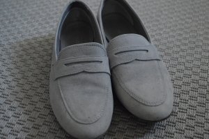 Pier one Slippers silver-colored-grey