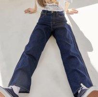 Lockere Boyfriend Jeans Momsjeans