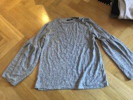 lockerer grauer Zara Pullover / M / 38