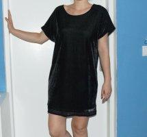 Vila Shirt Dress black mixture fibre