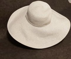 Loevenich Floppy Hat white-silver-colored polyester