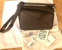 Loewe Handbag grey brown leather