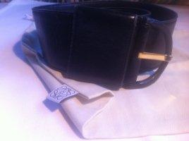 Loewe Leather Belt black leather