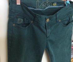 Lois Jeans in dunkelgrün Skinny