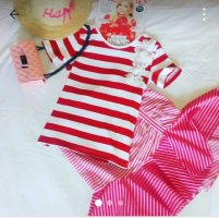 Zara Flounce Skirt white-pink