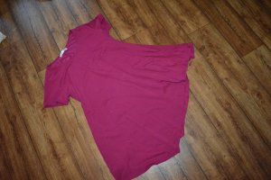 Long T-Shirt Magenta Gr. 42 von meaveor